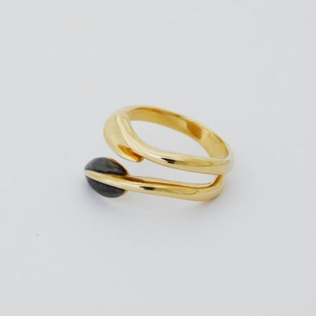 Ring FLORA 18KYG 02【受注商品】