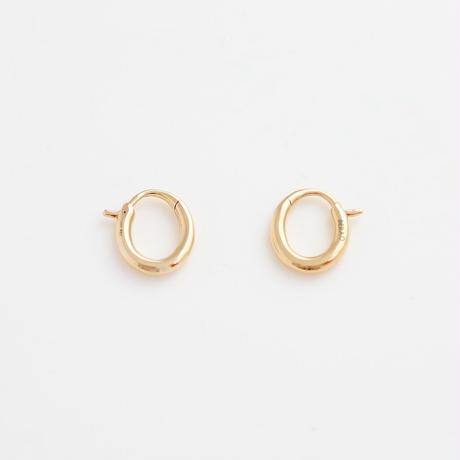 Earrings CLASICA 18KYG 11【在庫あり】