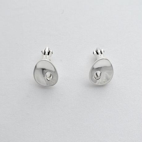 Earrings Ovalo Silver 01
