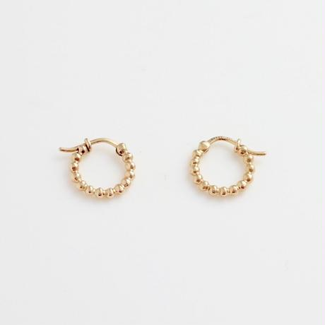 Earrings CLASICA 18KYG 09【在庫あり】