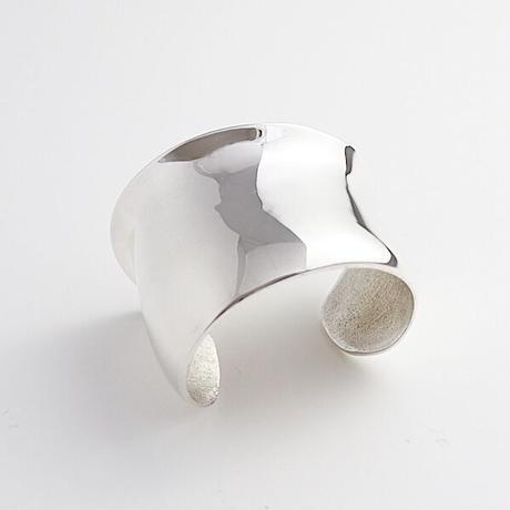 Bangle FLORA  Silver 01_ size S 【受注商品】
