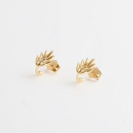 Earrings FLORA YG 02-ピアス【受注商品】