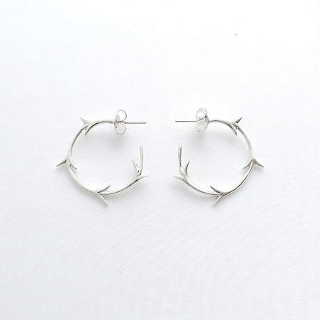 Earrings Yedra Silver 01