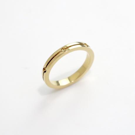 Ring SOLO PARA TI  YG 01【受注商品/近日発売開始】