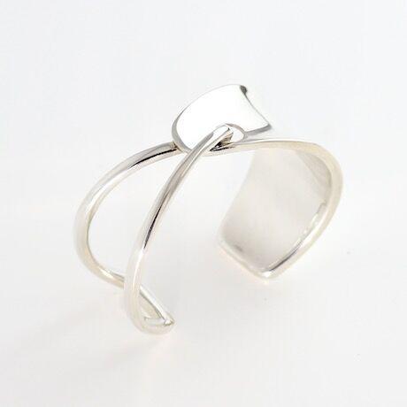 Bangle  OVALO  Silver 01【受注商品】