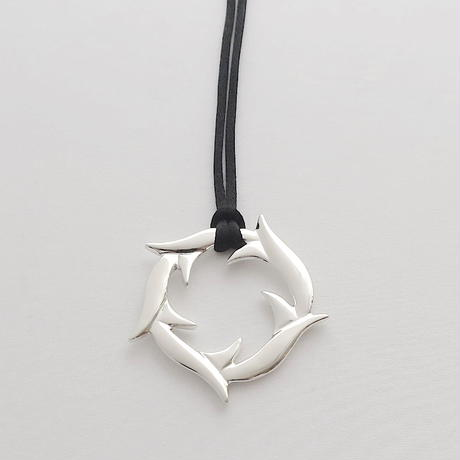 Necklace Yedra Silver 01