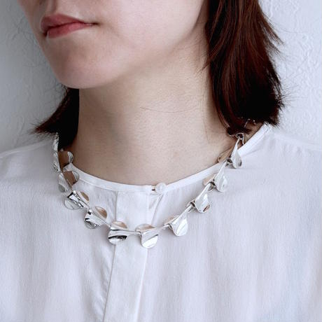 """NEW""  Necklace ONDAS Silver 03【受注商品】"