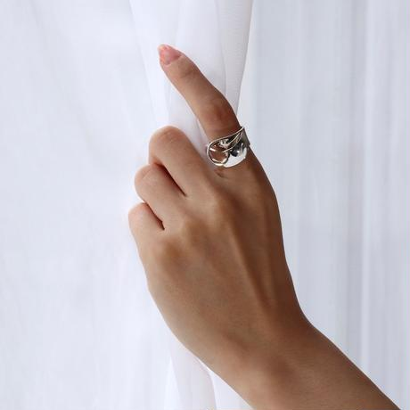 """NEW""  Ring ONDAS  Silver 02【在庫あり】"