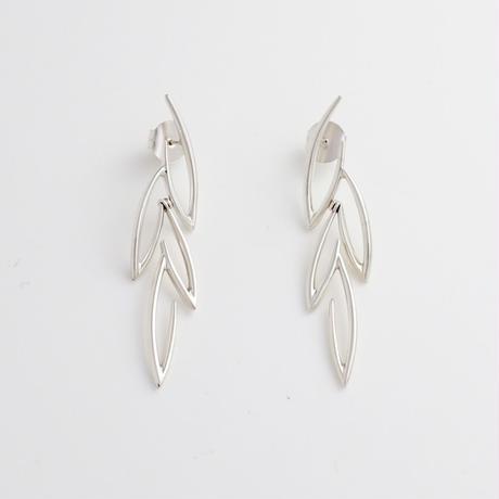 Earrings OLIVA Silver 01-ピアス【受注商品】