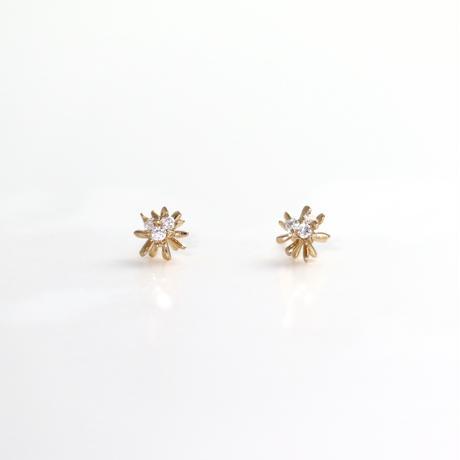 Earrings DENEB 18K YGD 02-ピアス【受注商品】