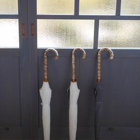 しけ絹の日傘(生成り)