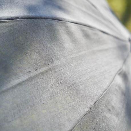 しけ絹の日傘(麻炭)