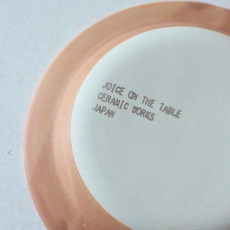 ★10月15日販売開始★ 12cm  モンドリアン リムプレート (オレンジマット)