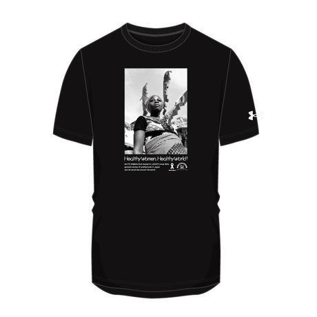 【全額寄付】ホワイトリボンラン2021大会公式Tシャツ(Kidsサイズ)