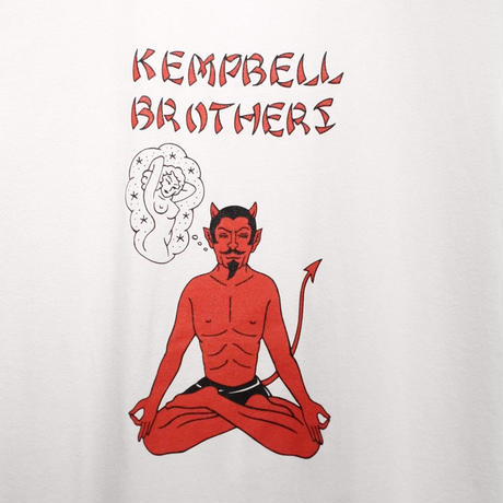 Kempbell brothers × Softmachine Devil T-Shirt
