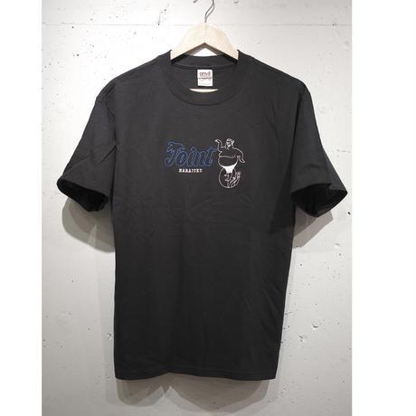 JOIONT Harajuku T-Shirt  刺繍 BLUE