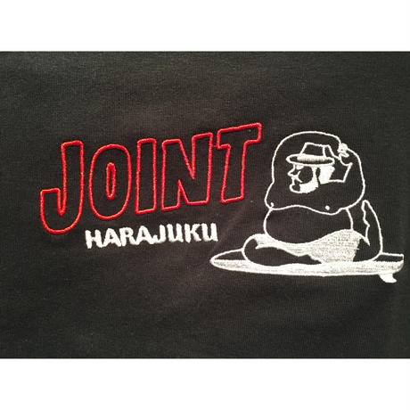 JOIONT Harajuku T-Shirt  刺繍RED