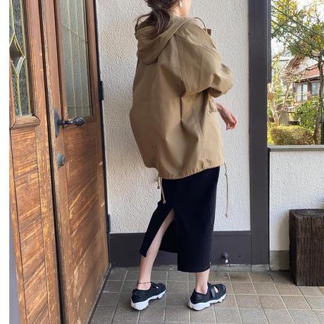 【4月中旬入荷予定】フード付きショートモッズコート