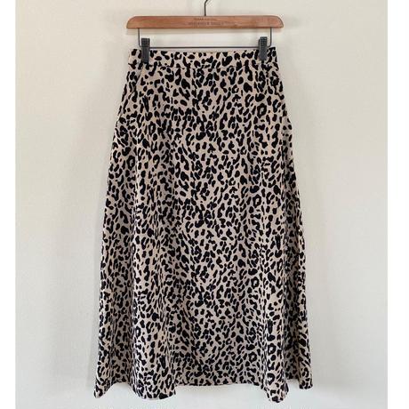 レオパードスカート