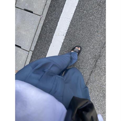 タック入りセミワイドパンツ(s_bottoms-00103-BLU)