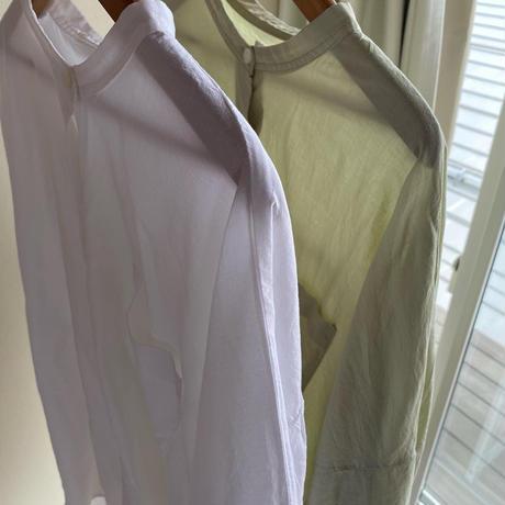 バックギャザーシャツ
