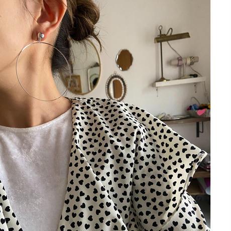Raphael / silver earring