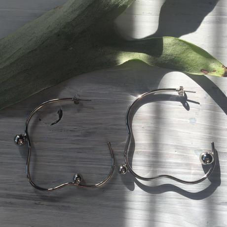 BenjaminーSILVER(pierce/ earring)
