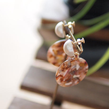 Hand made earrings-j009
