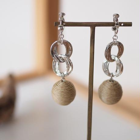 Hand made earrings-j003