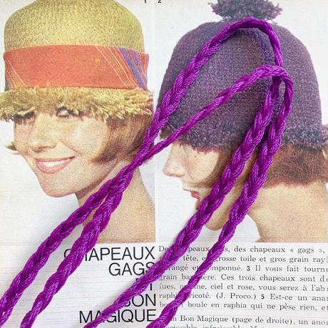 ネットバッグ[ purple × yellow ]