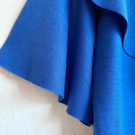フリルカットソー[blue]