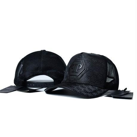 最新作☆フィリッププレイン/ PHILIPP PLEIN キャップ 帽子 夏定番 オシャレ 男女兼用 ブラック