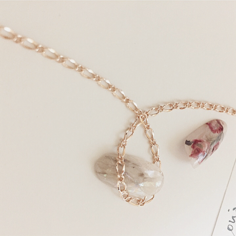webshop限定 joujou select Chaine (S) 30cm Rose gold
