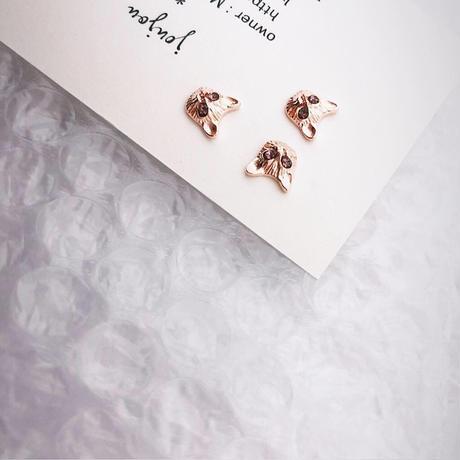 miaow / rose gold (3匹入)
