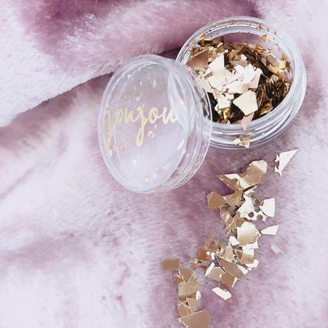 Growing debris/デブリ (Rose gold)