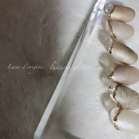 Lueur d'origine Luscious Glitter / Ombre(オンブル)
