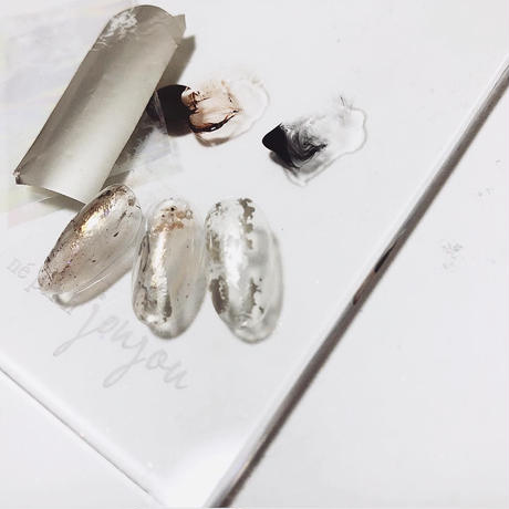 Art foil / frost platine (マット プラチナ)