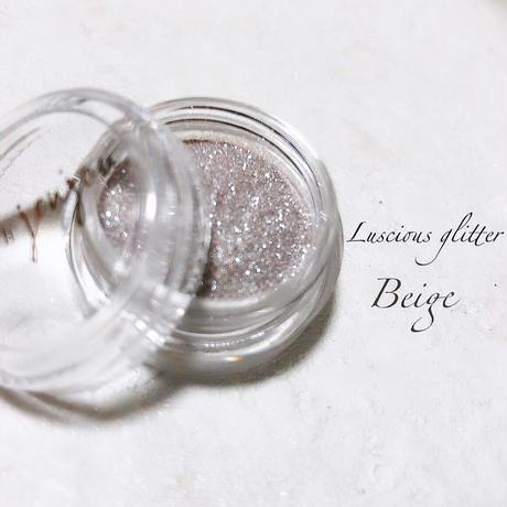 Lueur d'origine Luscious Glitter / Beige(ベイジ)