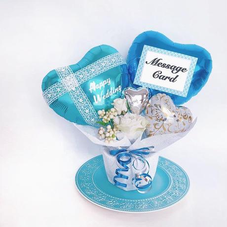 ウエディング♥様々な記念日に♥ バルーンへの文字入れ1個無料★結婚式の電報にオススメ♪