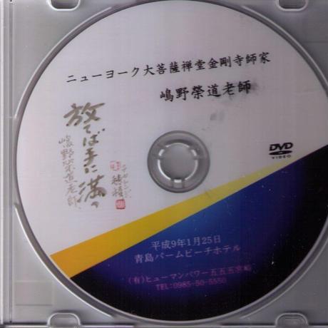 「打てば手に満つ」嶋野榮道老師(会員サイトで観賞)