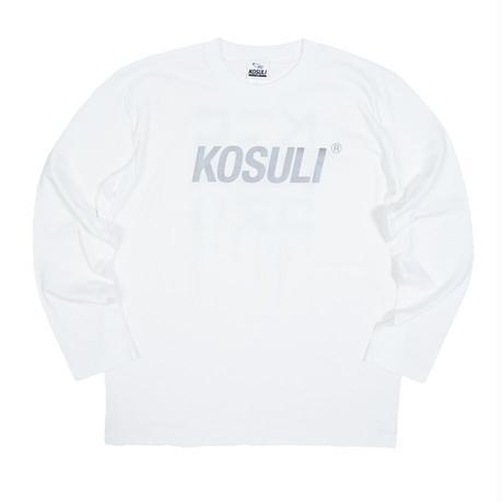 KOSULI INK DRIPPIN LONG SLEEVE T-SHIRTS コスリ インク ドリッピン ロングスリーブTシャツ 長袖Tシャツ