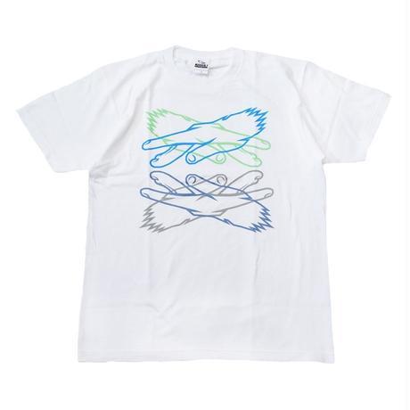 KOSULI CROSSING HANDS  T-SHIRTS/ コスリ クロッシング ハンズ Tシャツ