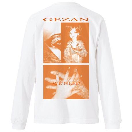 GEZAN//「WE NEED」 T-shirts