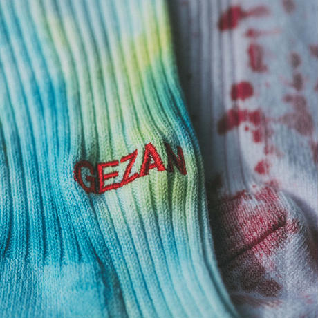 GEZAN EMJAY SOCKS(Red/Blue)