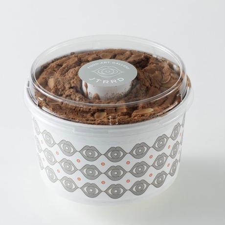 【チョコナッツシフォンケーキ】チョコレートの甘さとナッツのカリカリ食感が絶妙