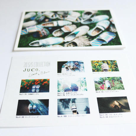 18-1 : JUCO. POSTCARD SET by Ayu Kobayashi