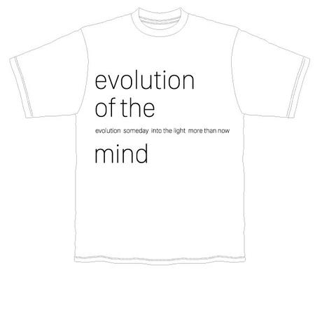 evolution of the mind Tshirt(各種)