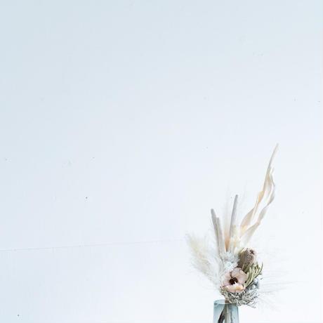 ホワイトドライフラワー