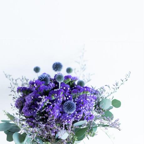 パープルの花束