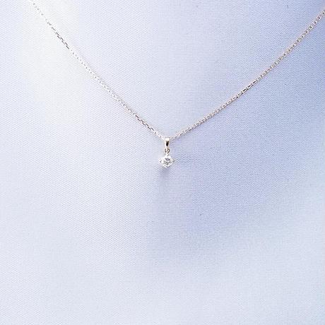 k18yg ダイヤモンド ペンダントネックレス